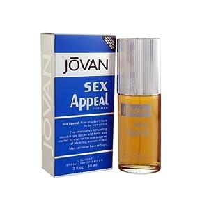Jovan Sex Appeal Eau De Cologne Perfume Spray for Men
