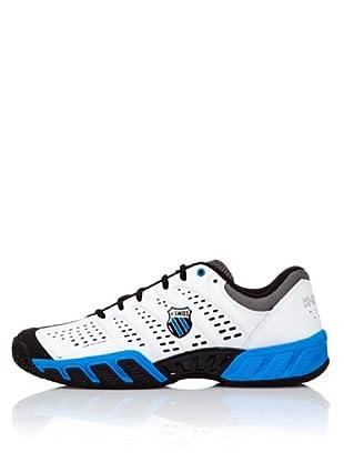K-Swiss Zapatillas Tenis BIGSHOT LIGTH (Blanco / Negro / Azul)