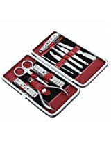 10 in 1 Stainless Steel Manicure Pedicure Ear Pick Nail Clipper Set
