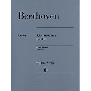 ベートーヴェン: ピアノ・ソナタ集 第2巻/ヘンレ社原典版 [楽譜]