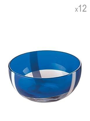 Guzzini Set 12 Coppette Gelato Table Art 2 Blu