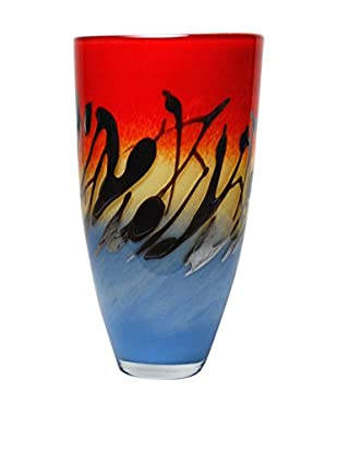 Mila Brown Odyssey Round Vase