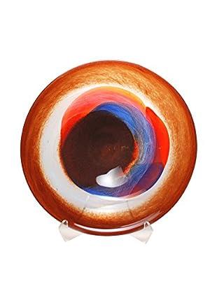 Mila Brown Santa Fe Centerpiece Plate