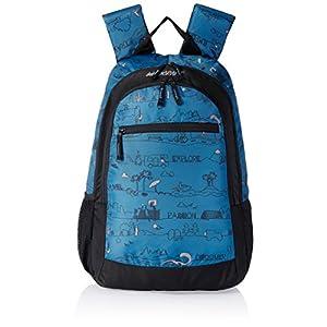 Wildcraft Ski LD Polyester Blue Kids bag (5-8 years age)