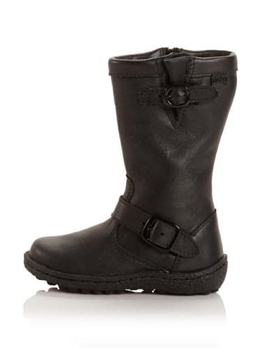 Camper Industrial Bou 90109 Boot (Toddler/Little Kid/Big Kid) (Negro)