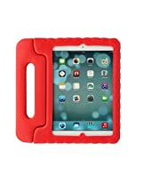 Gearonic Red Children Safe Kids Friendly Protective EVA Foam Rugged Case Cover Handle Stand for Apple iPad Air 5 (AV5656-Red-iPa5)