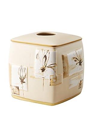 Creative Bath Flora Design Tissue Holder, Multi