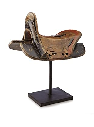Saddle with stand