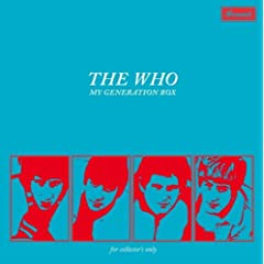 The Who/My Generation ~ Collector's Box