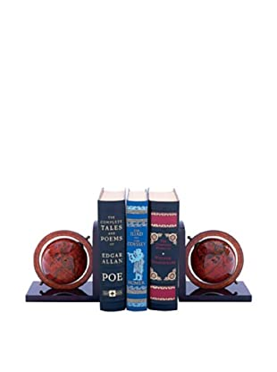 The Traveler Globe Bookends