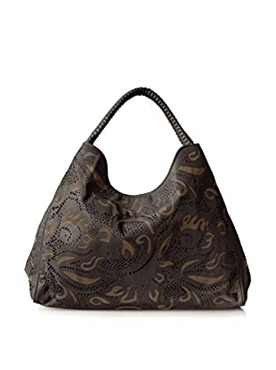 Nada Sawaya Women's Laser Cut Hobo, Black