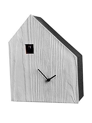 Diamantini & Domeniconi Reloj de Cuco Cemento Hielo/Negro