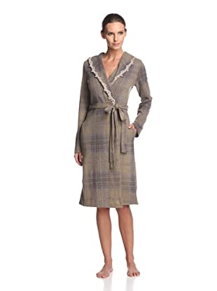 Valery Sleepwear Women's Biancaneve Robe (Fanco Brown)