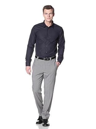 Incotex Ivory Men's Twill Hi-Twist Trouser (Pearl Grey)