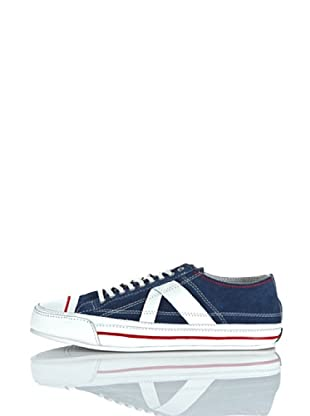 PF Flyers Sneakers Number 5 (Navy/Rosso/Bianco)