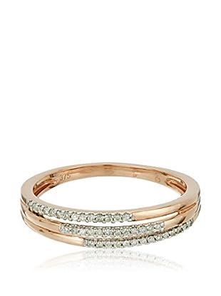 Bentelli Anillo 9K Gold 0.11Ct Diamonds