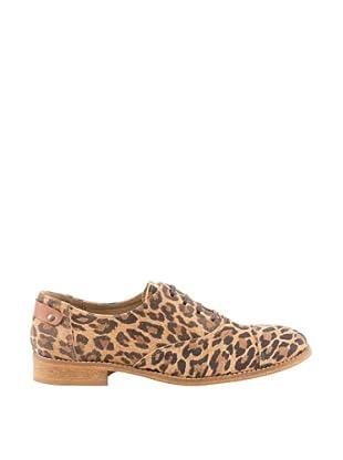 Misu Zapatos Oxford Eyes (Leopardo)