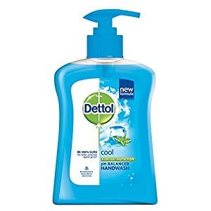 Dettol Liquid Soap Cool Pump - 250 ml