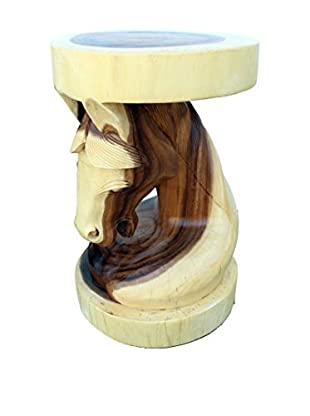 Asian Art Imports Horse Head Stool