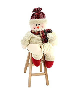 Decoracion Navideña Figura Navidad Muñeco Nieve