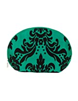 Danielle Oval Cosmetic Bag, Emerald Crush, 12.5 Inch