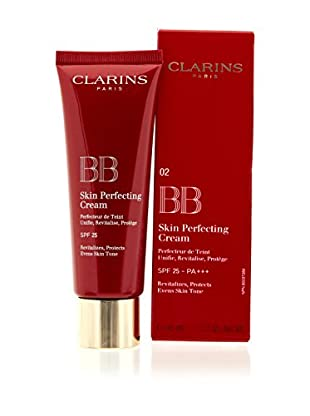 Clarins Gesichtscreme BB Skin Perfecting Cream N°02 Medium Spf25 45 ml, Preis/100 ml: 57.66 EUR