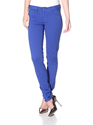 SOLD Design Lab Women's Spring Street Skinny Jean (Royal Blue)