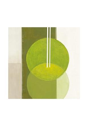 PlatinArt Cuadro Luminous Green 100 x 100