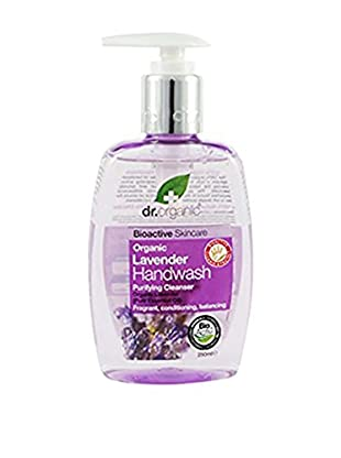 Dr Organic Sapone Liquido Mani Lavender 250 ml