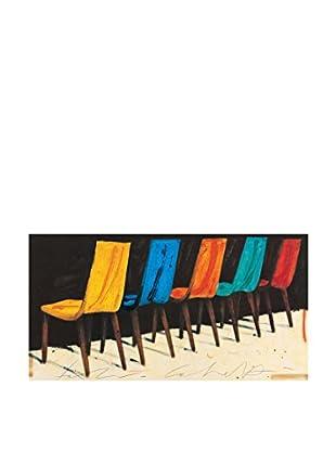 ArtopWeb Panel de Madera Calvetti Spazio Nuovo 50x100 cm