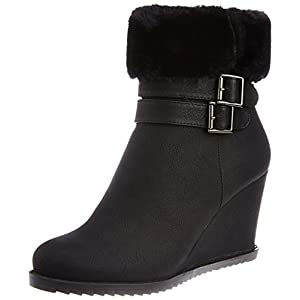 Pavers England Women's Black Boots - 3 UK/36 EU