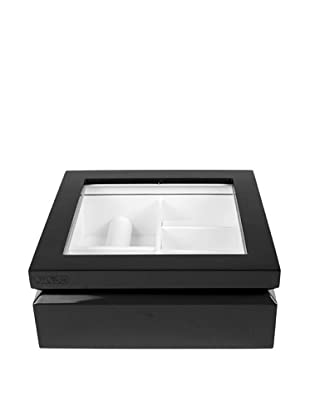 OYOBox Luxury European Inspired Jewelry Organizer, Black