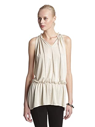 Lola & Sophie Women's Metallic Tunic (Gold)