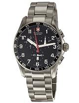 Victorinox Swiss Army Men's 241261 Classic Chronograph Black Dial Watch