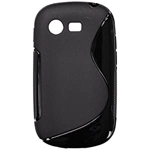 Amzer 96118 TPU Hybrid Case - Solid Black for Samsung GALAXY Star Duos GT-S5282, Samsung GALAXY Star GT-S5280