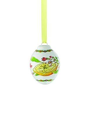 Hutschenreuther Porzellan-Mini-Ei Frühlingswiese Zitrone