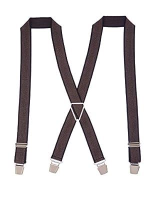 Ortiz & Reed Hosenträger Black Elastic Braces