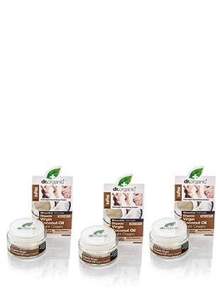 Dr.Organic Set 2 Cremas Faciales de Noche de Coco 50 ml (u)