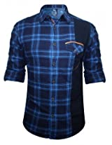 Spykar Blue Casual Shirt