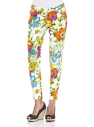 Peace & Love Pantalón Estampado (Crudo)