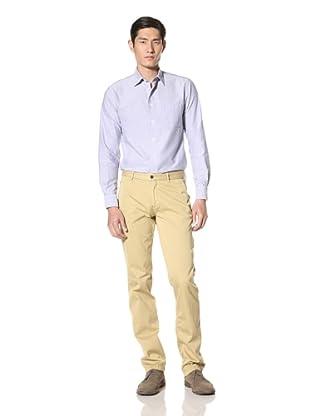 Borgo28 Men's Handtailored Chino Cotton Twill Pants (Ochre)