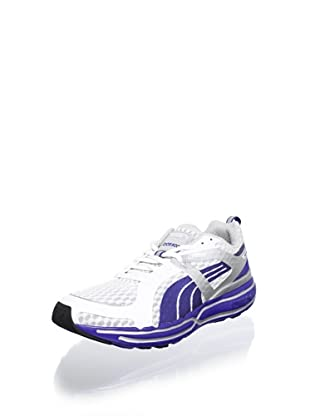 Puma Men's Faas 900 Cushion Running Shoe (White/Surf/Silver)