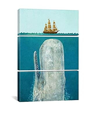 The Whale by Terry Fan Gallery Wrapped Canvas Print