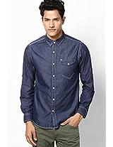 Blue Casual Shirt