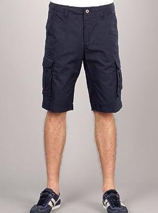 Hugo Boss Bermuda Bolsillos (azul marino)