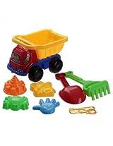 7 Pcs Sand Dump Truck Spade Shovel Children Fun Play Beach Pit Kids Toys Set