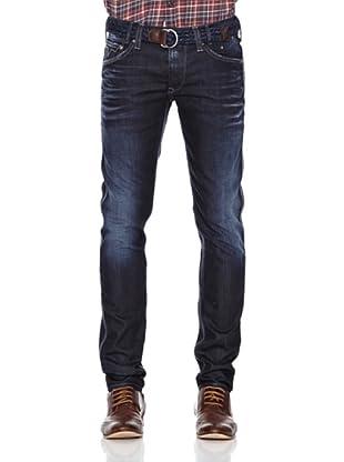 Pepe Jeans London Pantalón Vaquero Thor (Azul Noche)
