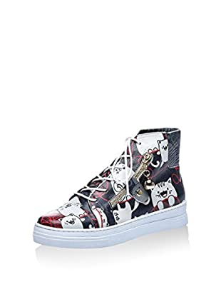 Los Ojo Hightop Sneaker Kitty