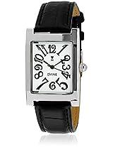 DD3066WT01 Black/White Analog Watch Dvine