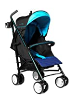 LA Baby Sherman Blvd Stroller, Blue/Black